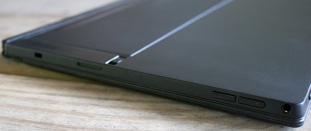 Lenovo ThinkPad X1 Tablet Ports Left