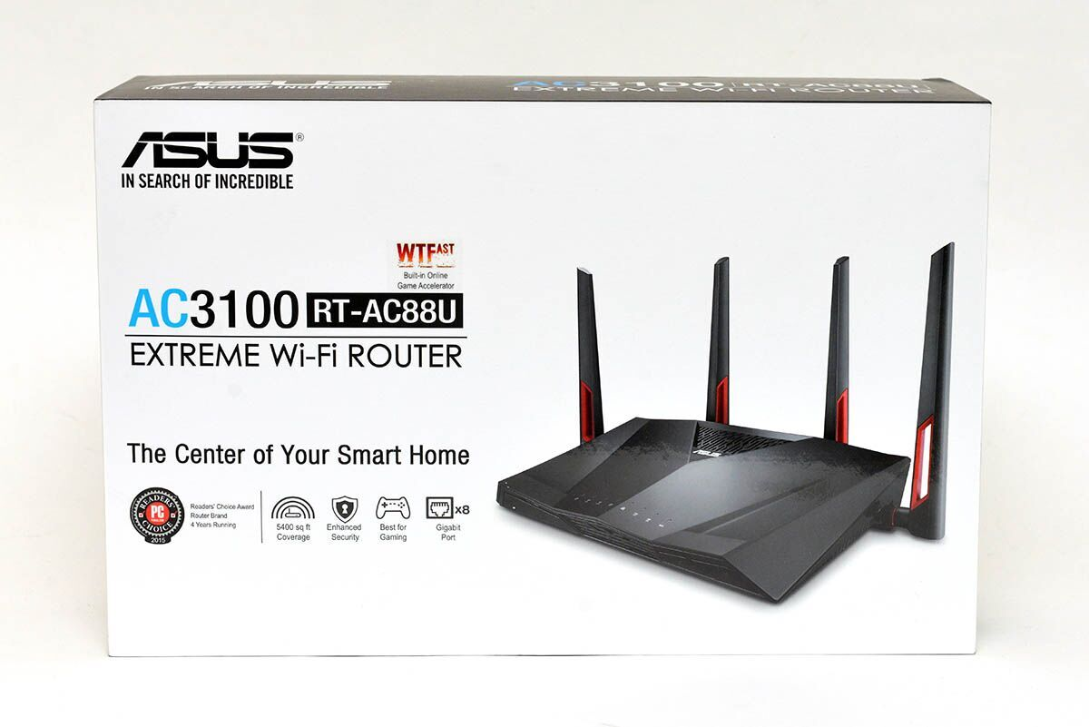 Asus RT-AC88U AC3100 MU-MIMO Router Review