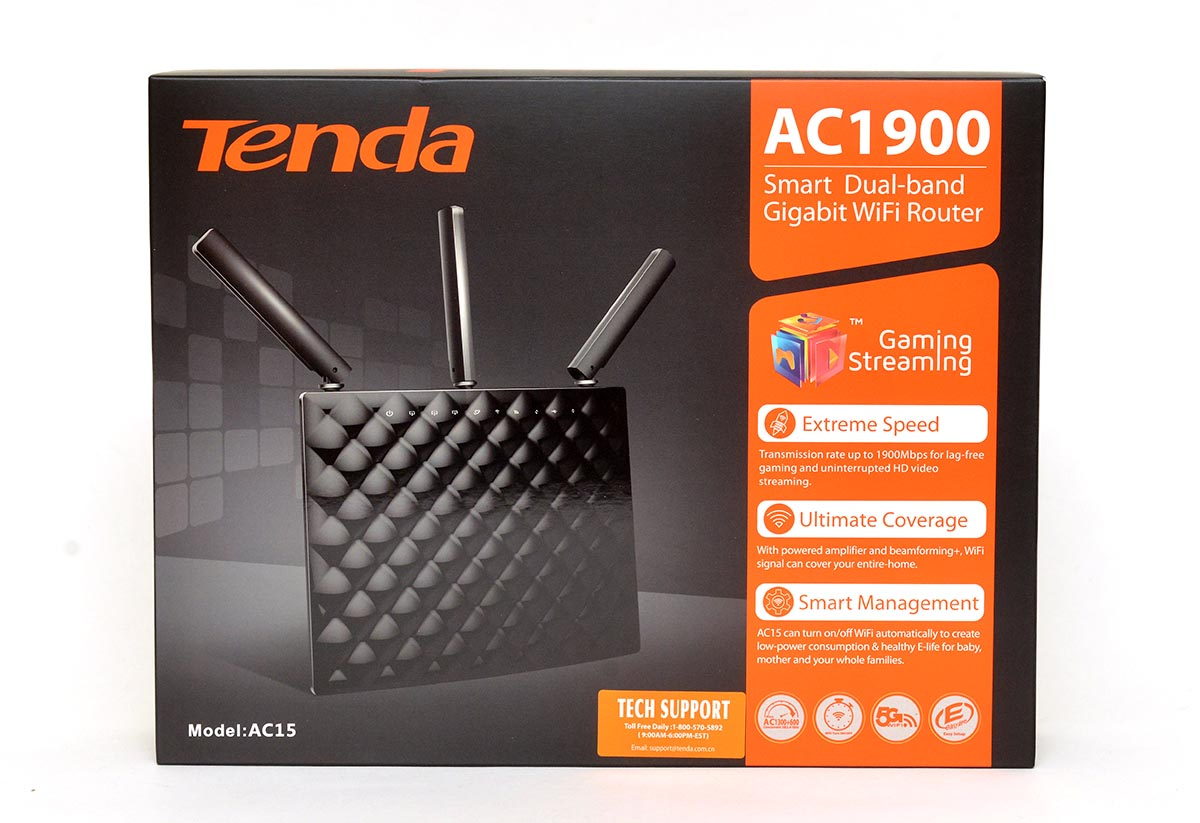 Tenda AC15 AC1900 802.11ac Router Review: Affordable AC WiFi Performance