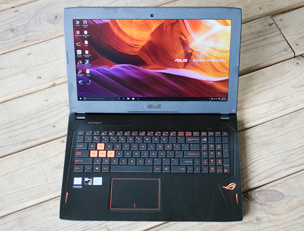 ASUS ROG Strix GL502VT-GS74 Gaming Laptop Review