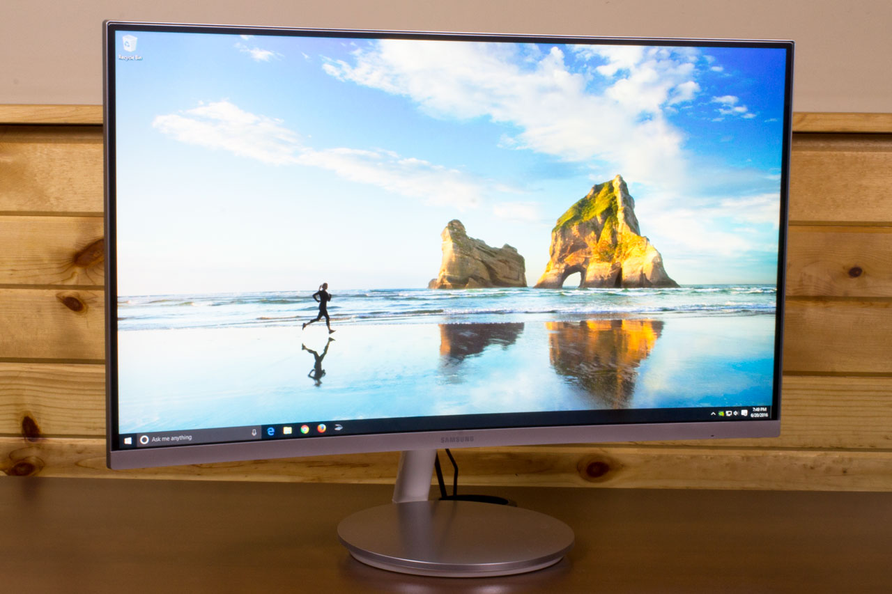 Samsung CF591 Curved Monitor Review