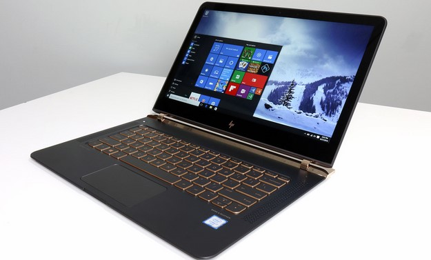 HP Spectre Open Left Angle Open