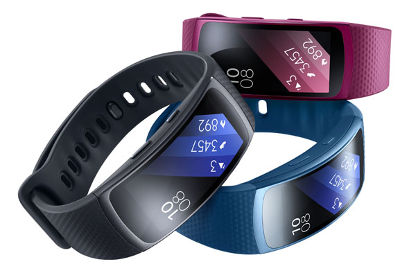 Samsung Gear Fit2 colors