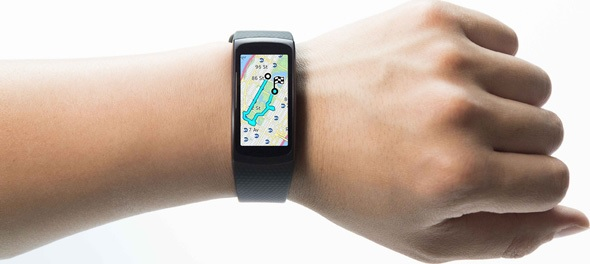 Samsung Gear Fit2 wrist