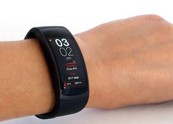 Samsung Gear Fit2 wrist3