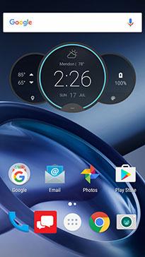 Moto Home Screen