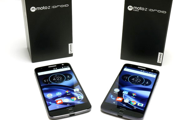 Moto Z Phones and Boxes