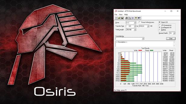 CybertronPC Osiris 14 ATTO