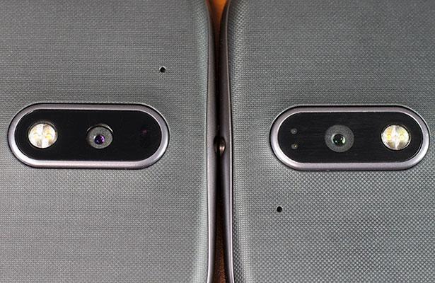 moto g4 back cameras