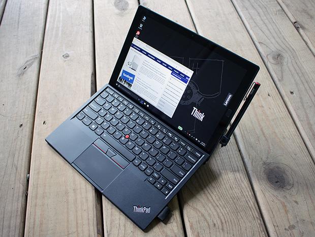 lenovo thinkpad x1 tablet open angled