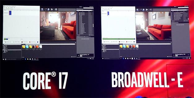 broadwell e vs 6700k