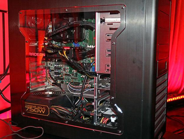 AMD Summit Ridge 8 Core Zen System