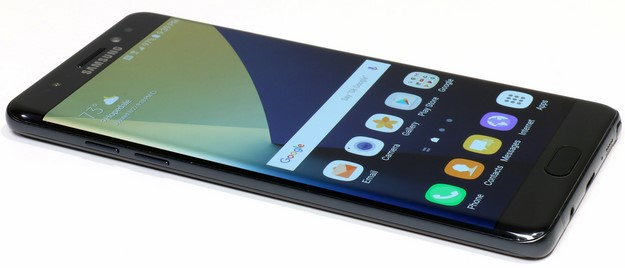 Galaxy Note 7 Left Side