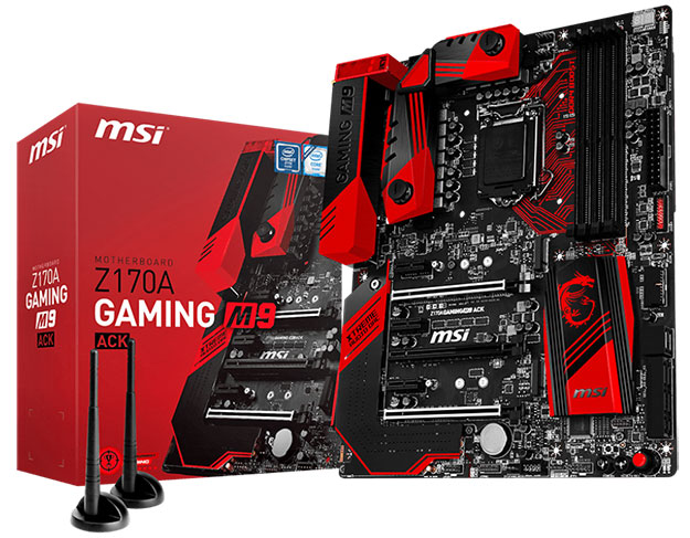 MSI Z170A GAMING M9 ACK And Box