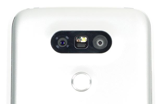 lg g5 dual camera closeup