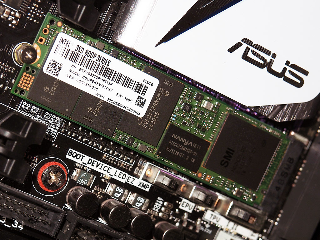 Intel SSD 600P Solid State Drive Review: NVMe Performance, SATA Pricing