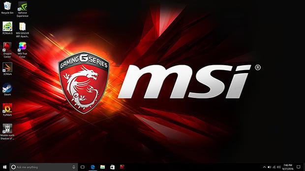 MSI GE62VR 6RF Apache Pro Desktop