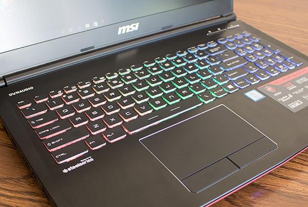 MSI GE62VR 6RF Apache Pro Keyboard