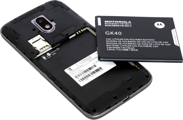 MotoG4Play battery