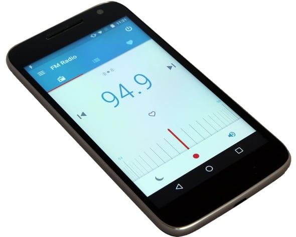 MotoG4Play radio
