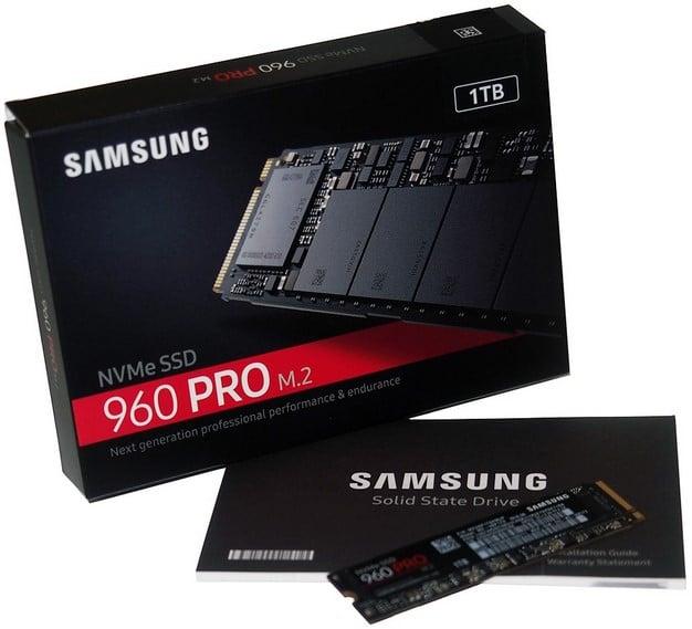 samsung ssd 960 pro box