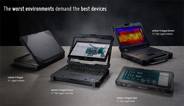 dell rugged line up