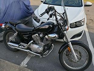 Huawei Honor 8 Motorcycle