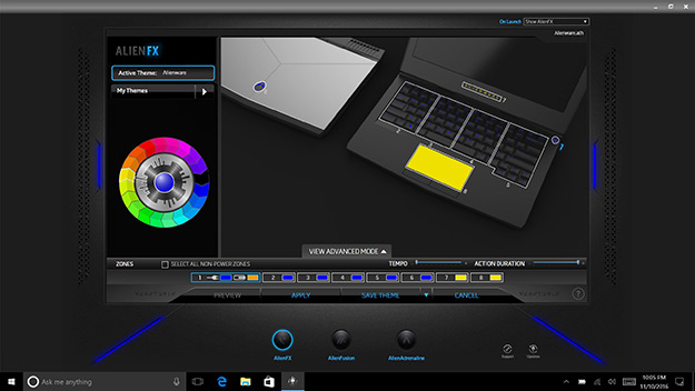 AlienFX Desktop