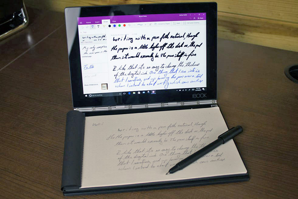 Lenovo Yoga Book Review: A 2-In-1 With A Trick