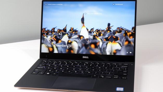 XPS13 Lid Open Penguins