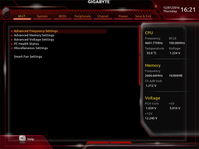Gigabyte Z170X Designare BIOS2