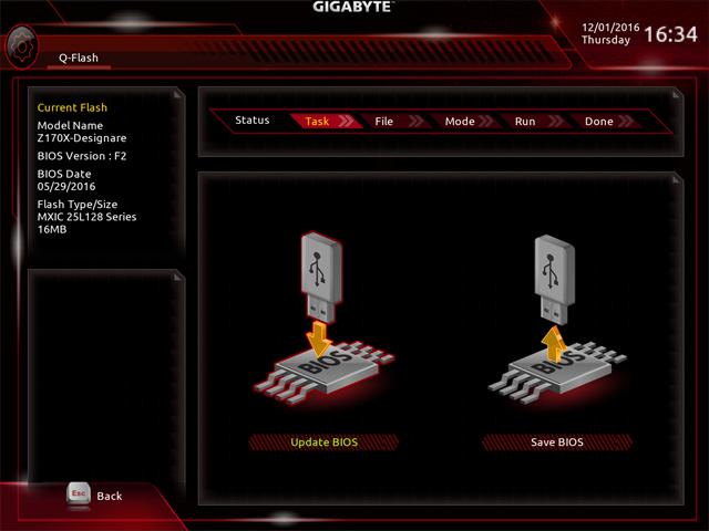 Gigabyte Z170X Designare BIOS5