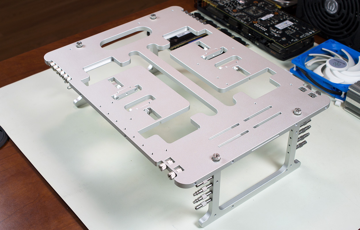 Streacom BC1 Open Benchtable Review: Open-Source Open-Air PC Building Done Right