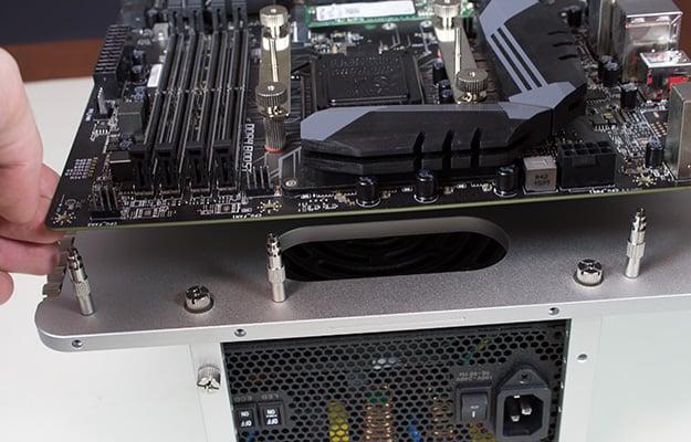 streacom bc1 obt motherboard installation
