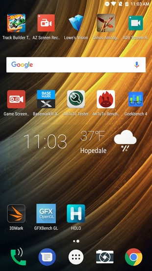 phab 2 pro Android home