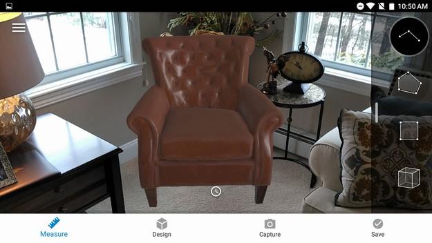 phab 2 pro Lowes Vision AR app