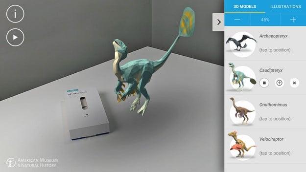 phab 2 pro dinosaurs among us