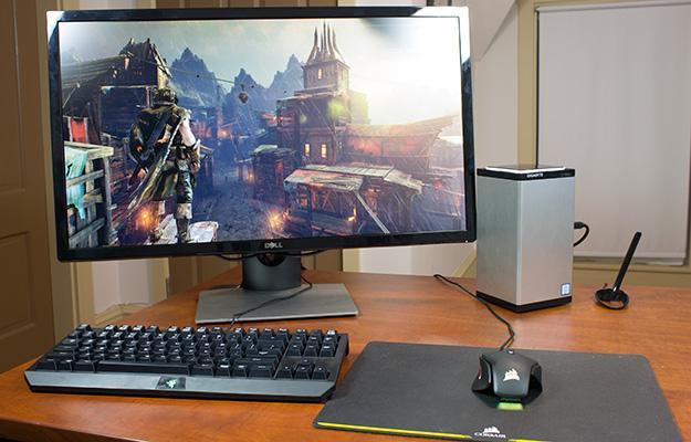 gigabyte brix gaming uhd full setup