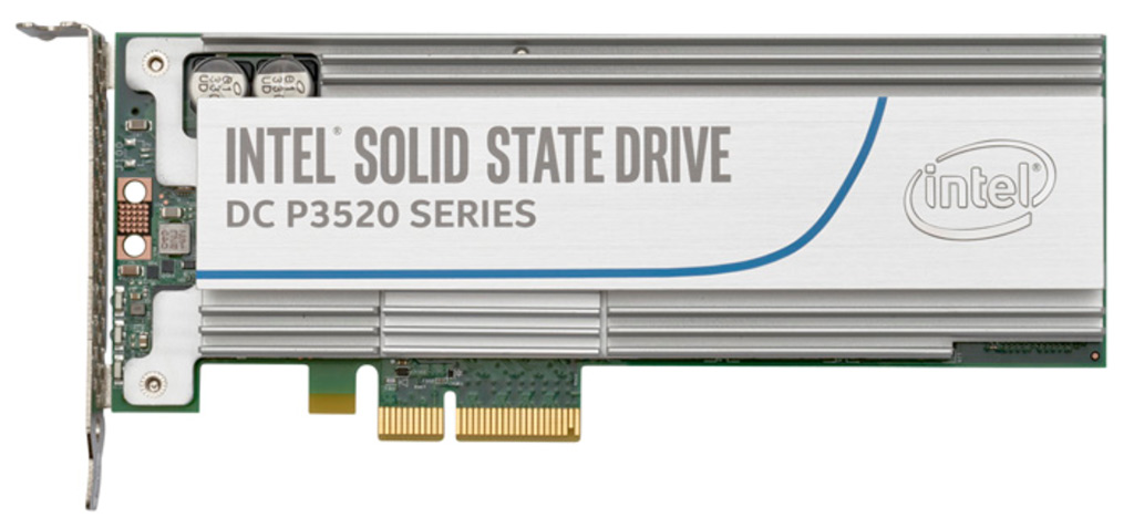 Intel SSD DC P3520 Series NVMe PCIe Enterprise Solid State Drive Review