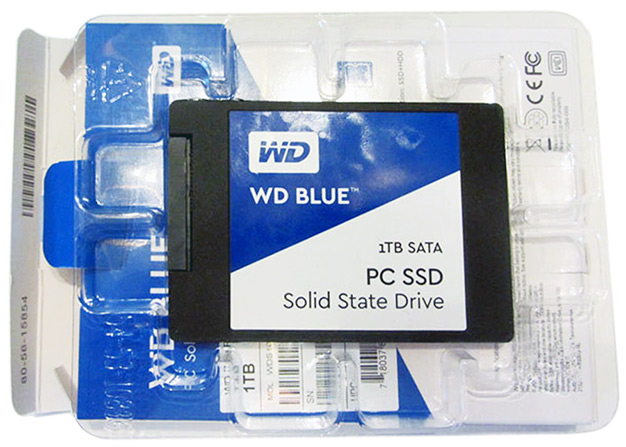 wd blue ssd package
