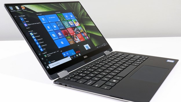 XPS 13 2 in 1 Left Side Angle