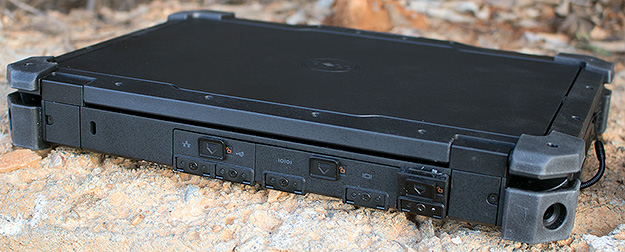 Dell Latitude 12 Rugged Ports Closed