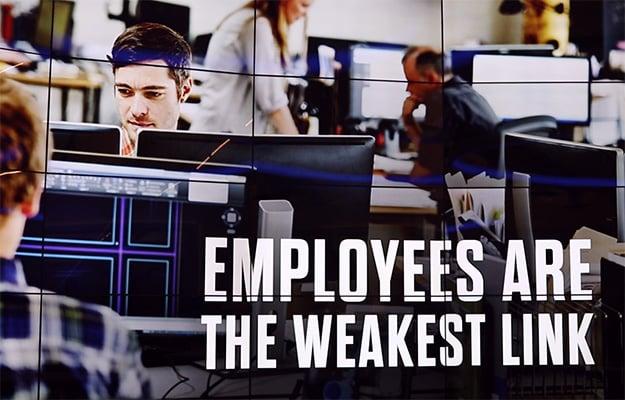 print security employees weakest link