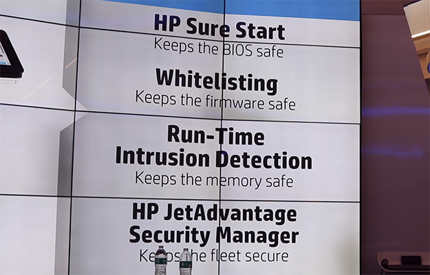 print security hp four key areas