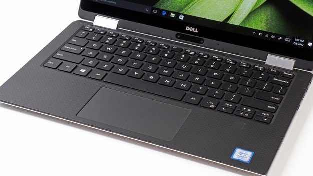 XPS 13 2 in 1 Keyboard and Trackpad