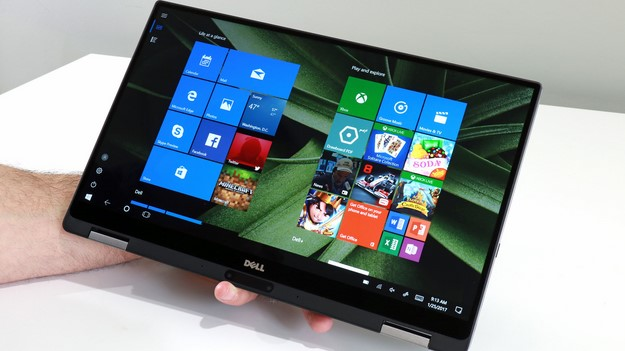 XPS 13 2 in 1 Tablet Mode