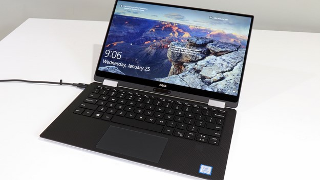 XPS 13 2 in 1 Windows Login Screen