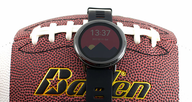 watchface on football2