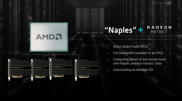 amd naples and radeon instinc