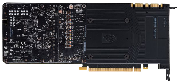GeForce GTX 1080 Ti - Back Plate Removed
